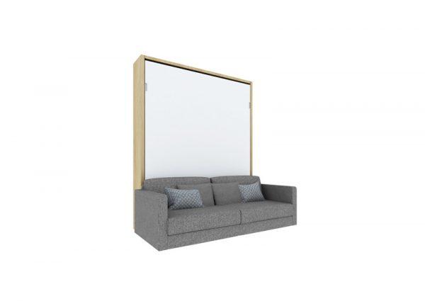 Meble transform łóżko w szafie z sofą