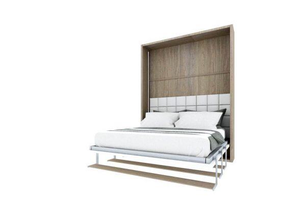 Smartbed Book pionowe łóżko w szafie
