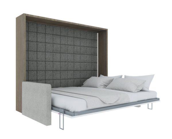 Inteligentne meble Smartbed O Sofa poziome łóżko w szafie