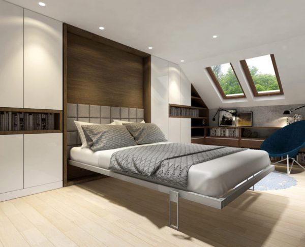 Smartbed Twist obrotowe łóżko w szafie