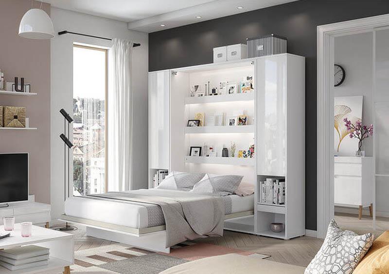 bed Concept PRO łozko w szafie bravvo