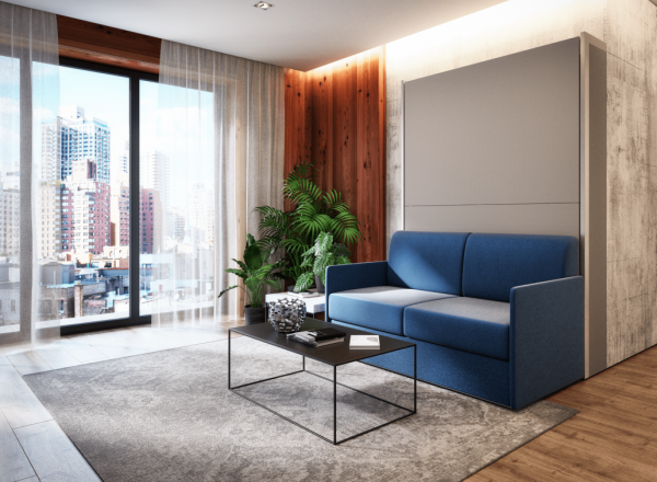 smartbed v young sofa łóżko w szafie meble transform