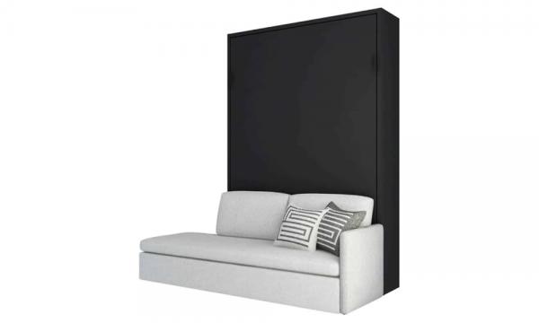 Łóżko w szafie z sofą Smartbed V Sofa Box inteligentne meble