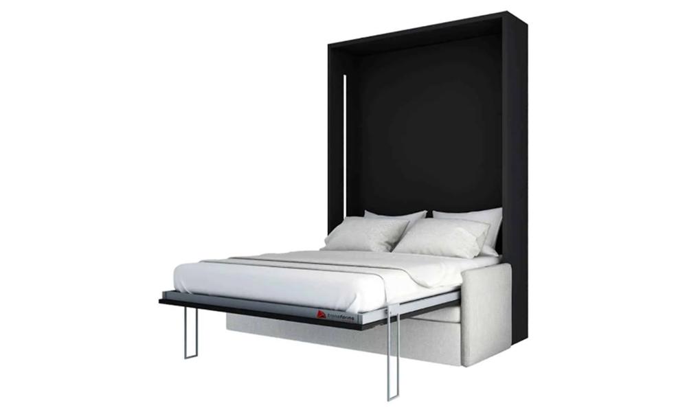 Łóżko w szafie z sofą Smartbed V Sofa Box meble transformers