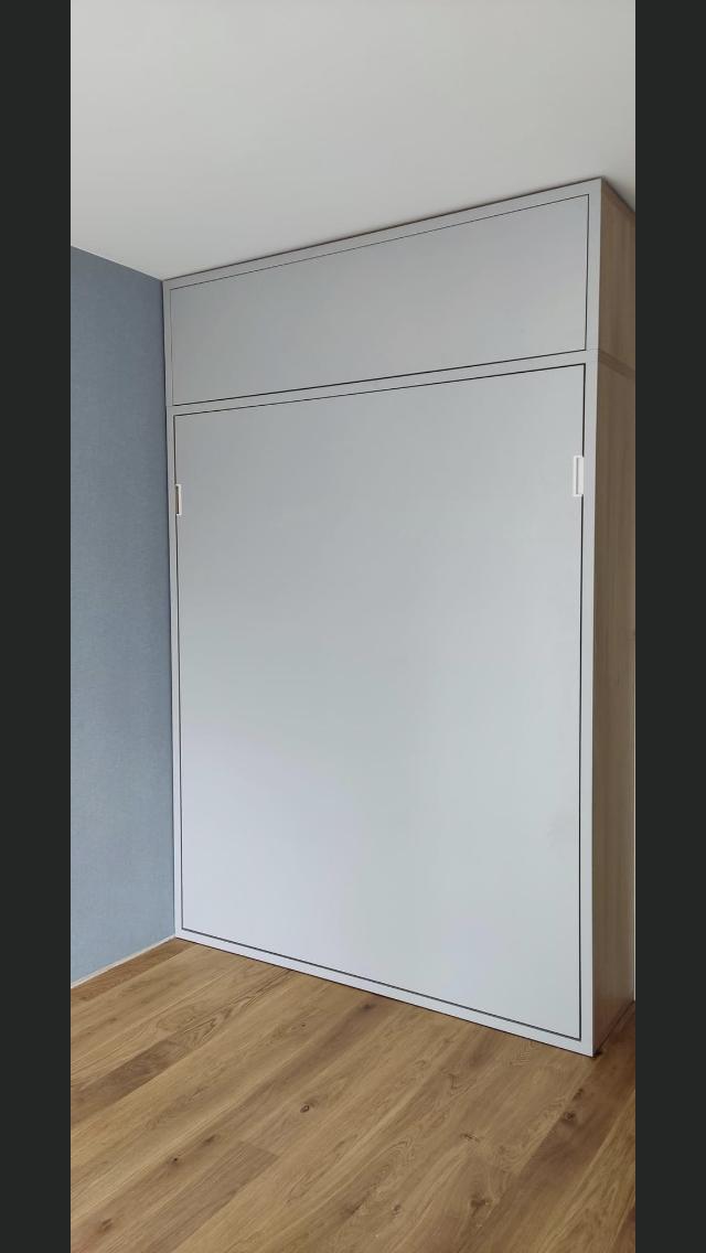 łóżko w szafie realizację 2