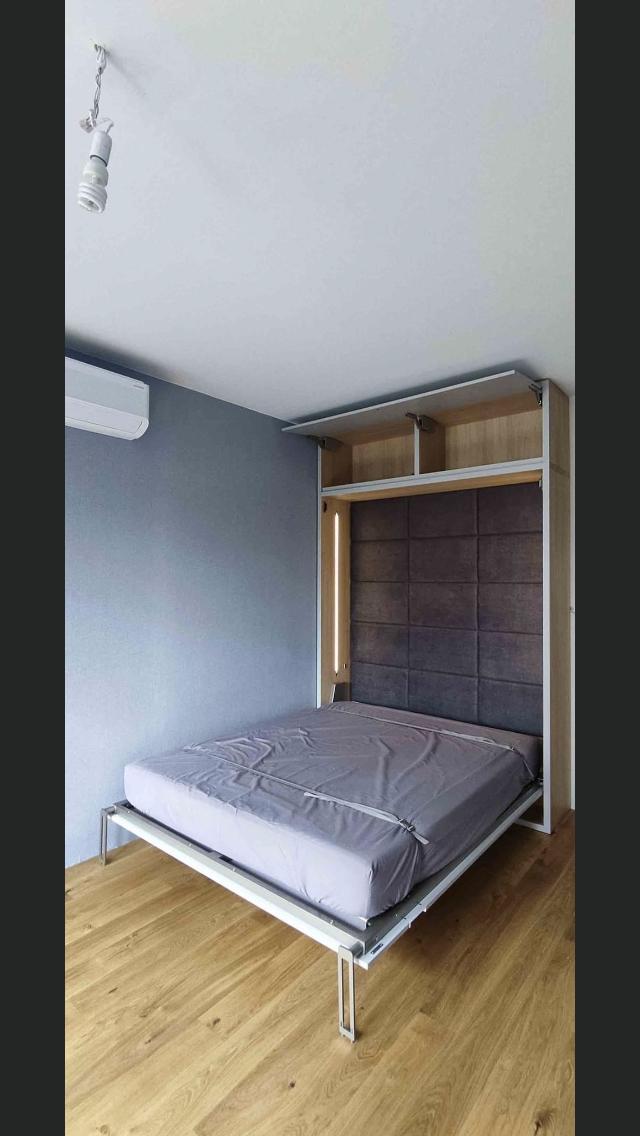 łóżko w szafie realizację